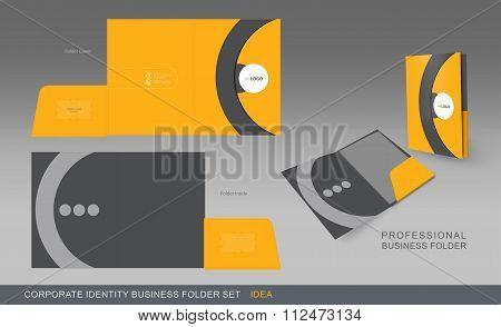 Corporate Identity Business Folder-concept 02