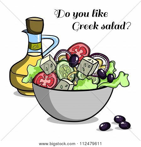 Natural Food Greek Salad