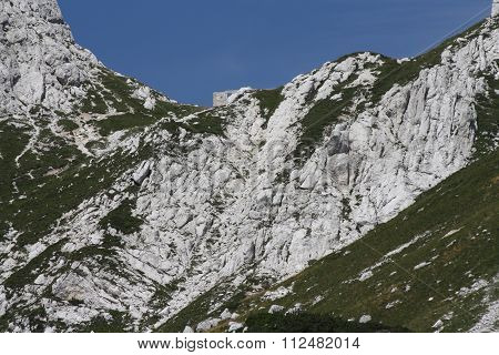 The Julian Alps always offer a great show