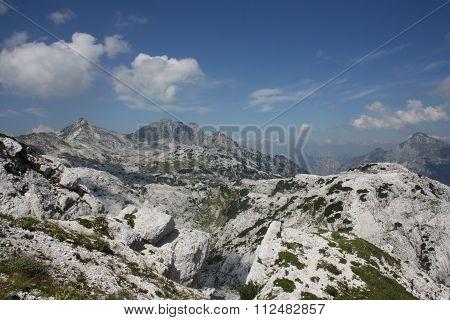 Le Alpi Giulie offrono sempre uno spettacolo meraviglioso