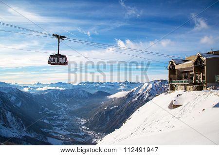 Cable Car Telepherique Aiguille du Midi