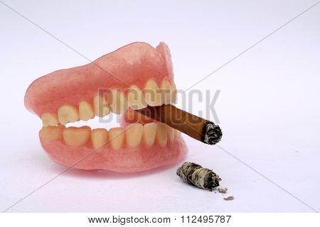 Anti smoking concept