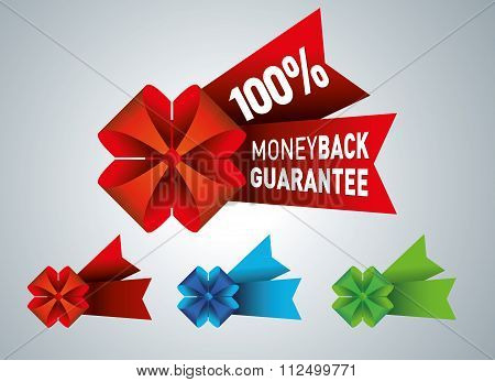 Money back guarantee business seal