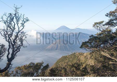 Amazing Mount Bromo  After Sunrise.