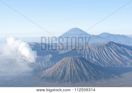 Mount Bromo After Sunrise.