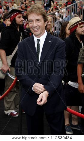 DISNEYLAND, CALIFORNIA - May 7, 2011. Martin Short at the World premiere of