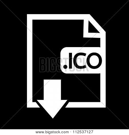 an images of Image File type Format ICO icon