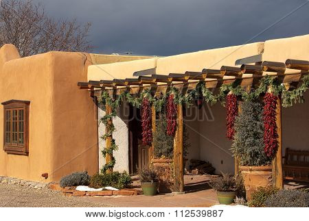 Entryway In Santa Fe