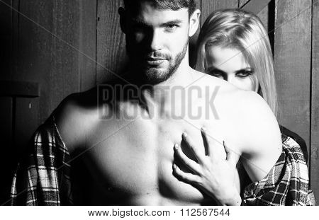 Sexual Young Couple