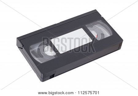 Retro Videotape Isolated On A White Background
