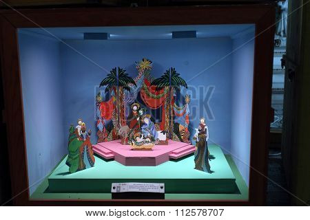 Asian Nativity Scene