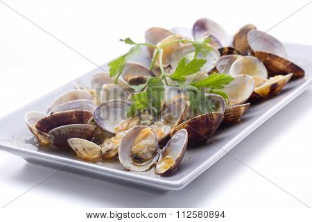 Cockles With Sauce