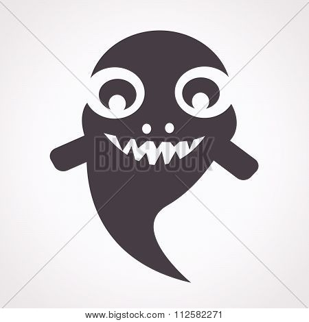 Ghost Halloween Icon