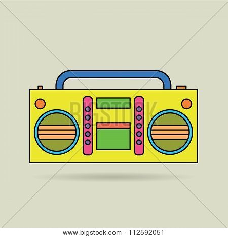 Tape Recorder.