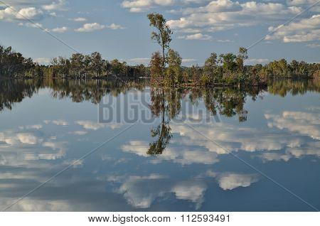 Dreamy And Peaceful Lake