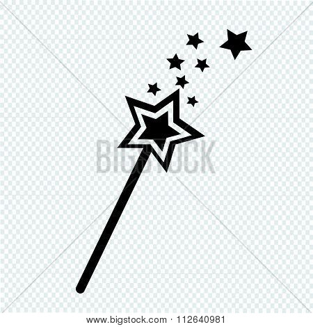 Magic Wand Icon Vector Photo Free Trial Bigstock