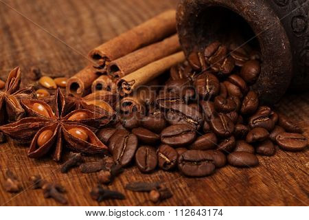 coffee anise and cinnamon