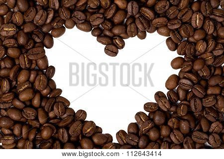 Heart of coffee