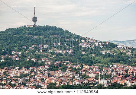 View In Sarajevo