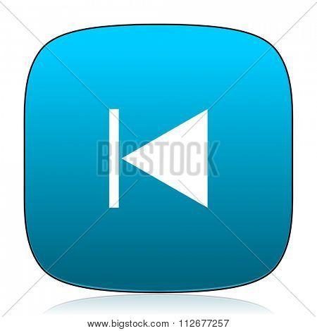 prev blue icon