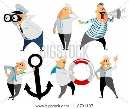 Six Seamen Set
