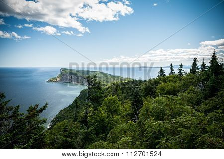 Forillon National Park in Gaspe Peninsula,Scenic View