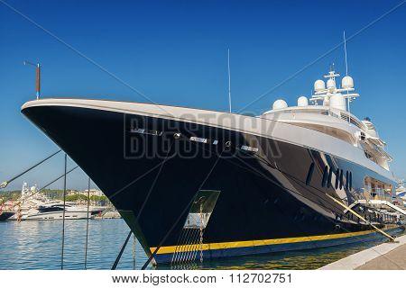 big luxury yacht