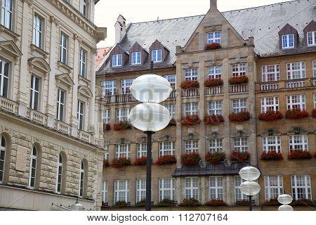 Building In Neuhauser Str, Munich, Bavaria, Germany