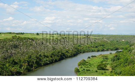 Chavon River in the Dominican Republic