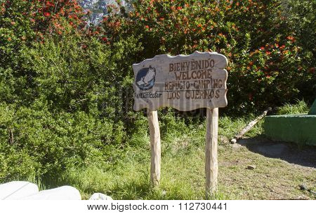 Welcome To Los Cuernos Refugio