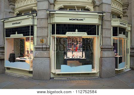 Montblanc Store - London