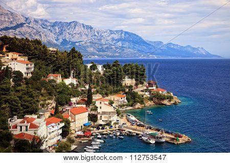 Beautiful Coastline Makarska Riviera