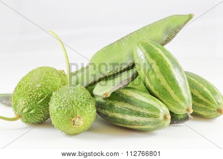Flat Bean Spiny Gourd Pointed Gourd