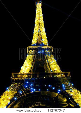 Tower of Light - Eiffel Tower in the City of Lights - Paris, France