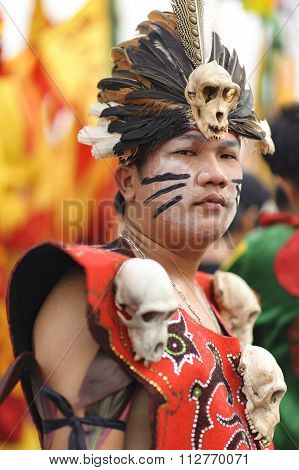 Tatung of Singkawang, West Kalimantan.