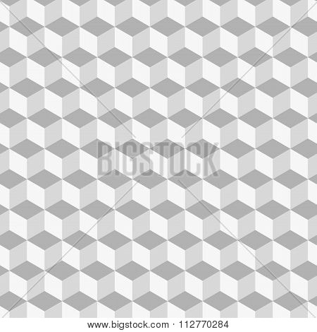 Stock Vector 3d background of cubes