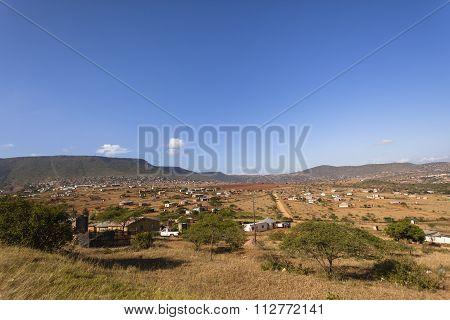 Africa Tribal Landscape