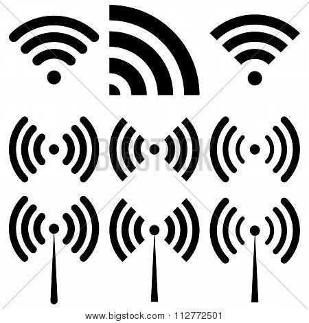 Vector illustration of wi-fi