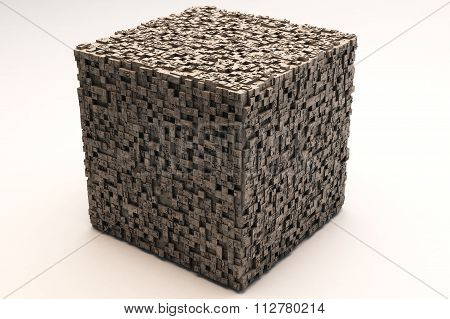 Mysterious Greeble Cube
