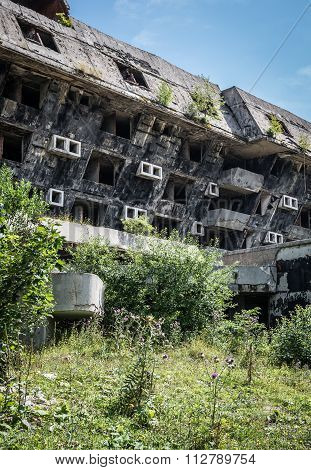 Ruins Of Hotel