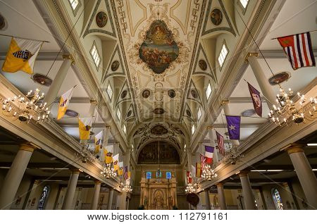 New Orleans Saint Louis Cathedral Interior