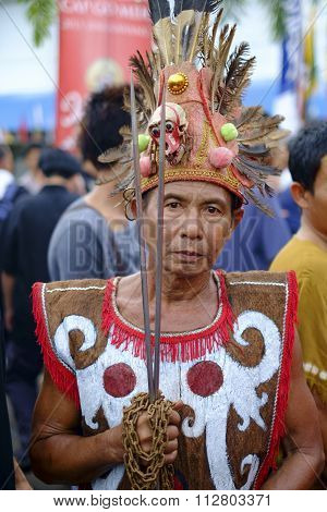 Shaman of Singkawang, West Kalimantan, Indonesia.