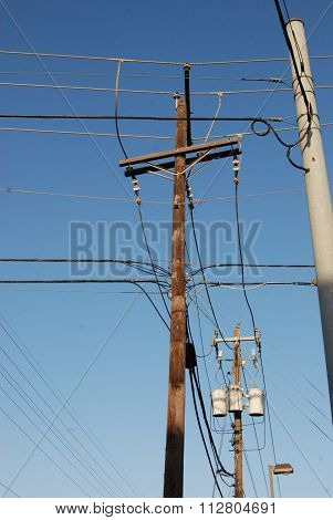 Power Poles and Lines