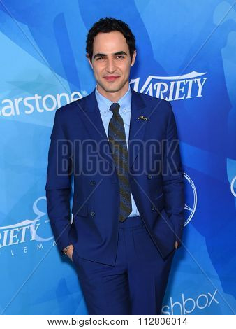 LOS ANGELES - NOV 19:  Zac Posen arrives to the Inaugural Variety and WWD StyleMakers Event  on November 19, 2015 in Culver City, CA.