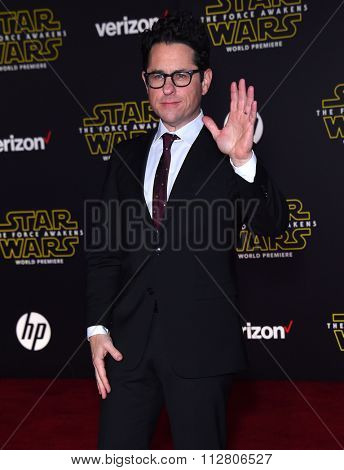 LOS ANGELES - DEC 14:  J.J. Abrams arrives to the