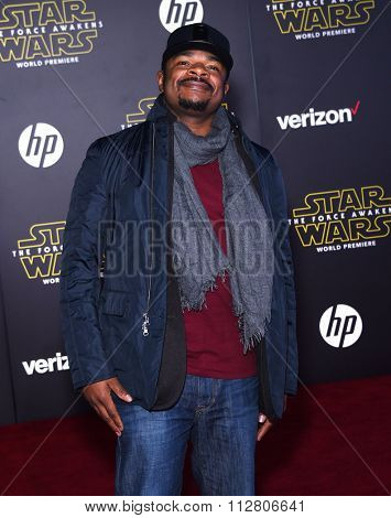 LOS ANGELES - DEC 14:  F. Gary Gray arrives to the
