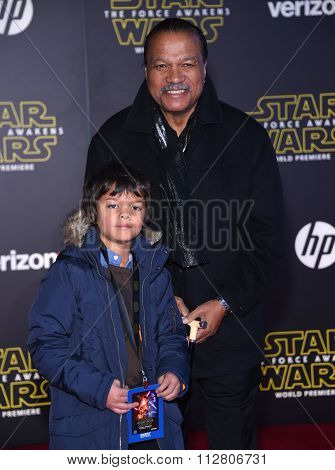 LOS ANGELES - DEC 14:  Billy Dee Williams arrives to the