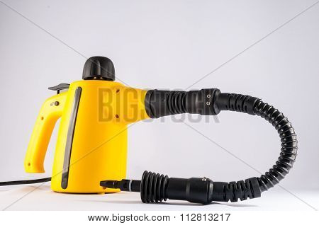 Picture of Yellow Hot Vapor Cleaning Machine poster