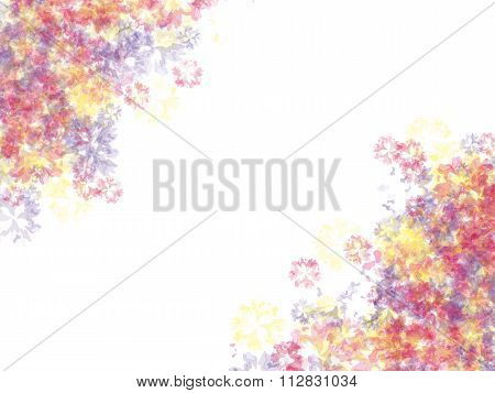 Artistic background. Watercolor stains imitation