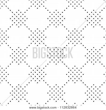 Vector illustration seamless pattern of dots